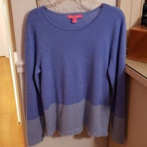 Lilly Pulitzer Cashmere Color Blocked Sweater EEUC